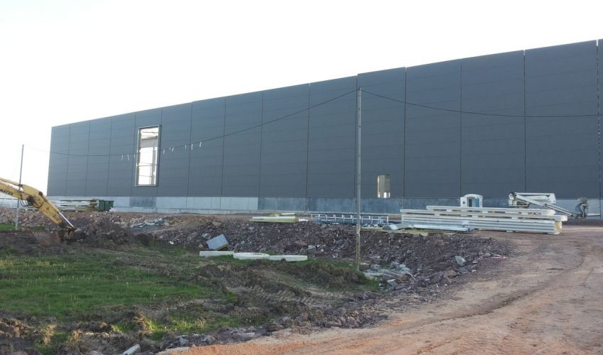 Warehouse for finished products LIDL