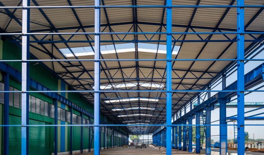 Two-storey warehouse