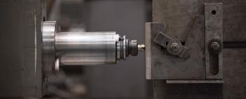 Mechanical processing of large steel items